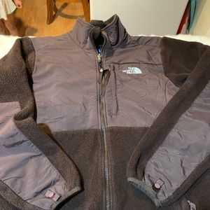 The North Face brown large sweater